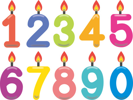 Number Candle 1