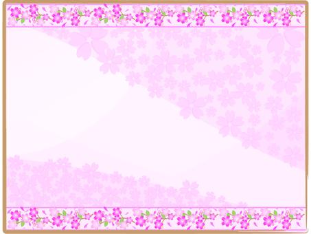 벚꽃 프레임 02