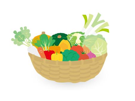 Variety of vegetables platter