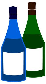 와인 병 중병