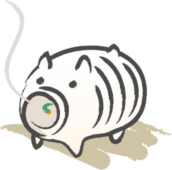 Pig's mosquito repellent incense
