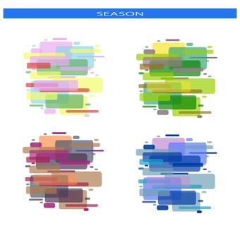 Seasonal color - Rectangle set