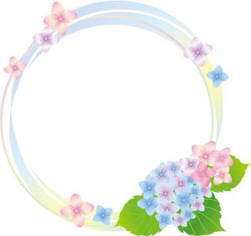 繡球花和日元