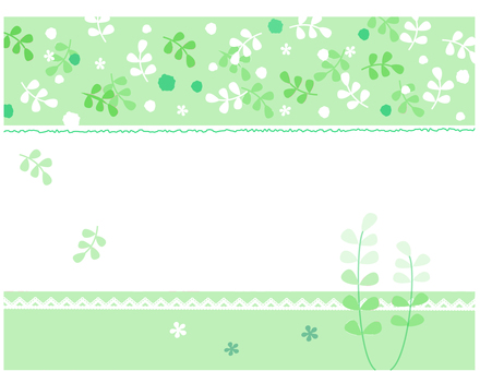 Illustration of the spring background