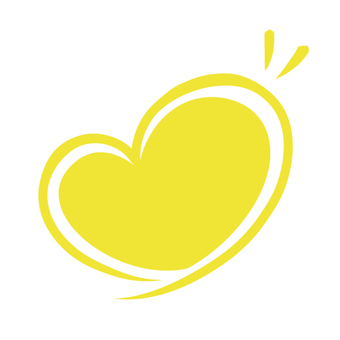 Heart line · yellow · solid