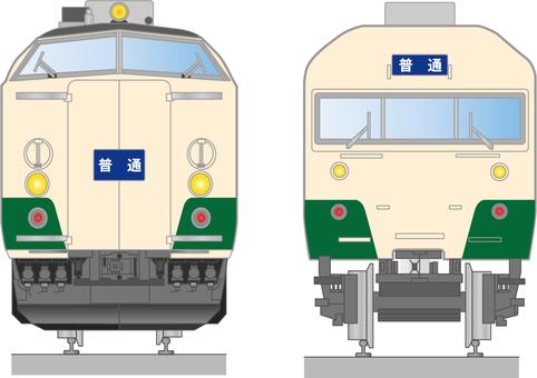JNR 715系列列車(麵包屑列車)的插圖