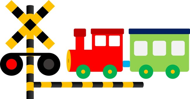 Crossing and train Pepo 01
