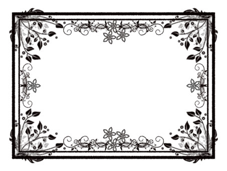 Brand-new style Frame No background