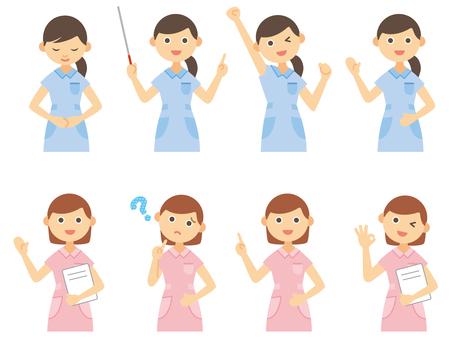 看護士_女性