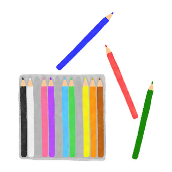 12 color colored pencils