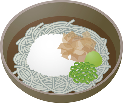 Grated soba