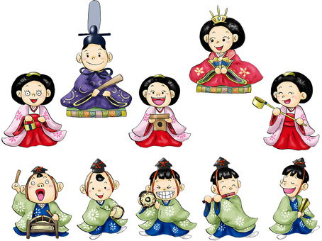 Hina doll figure cute