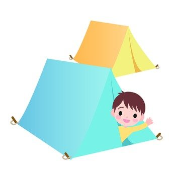 Tents and children