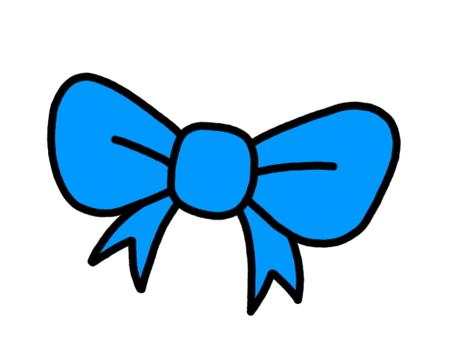 Ribbon blue