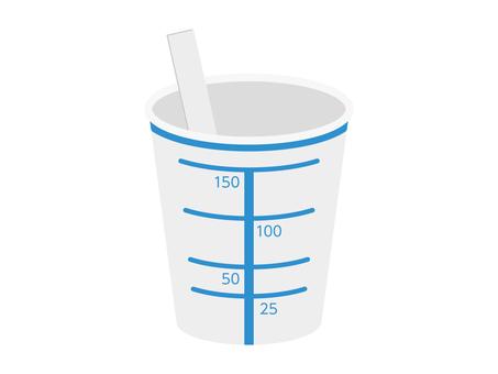 Urinalysis cup
