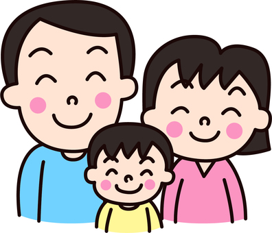 家族_夫婦_子