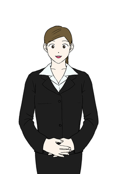 Business style female (suit)
