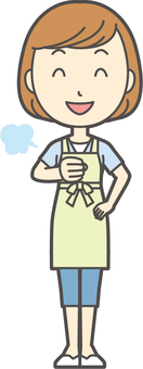 Apron youth Bob-174-whole body