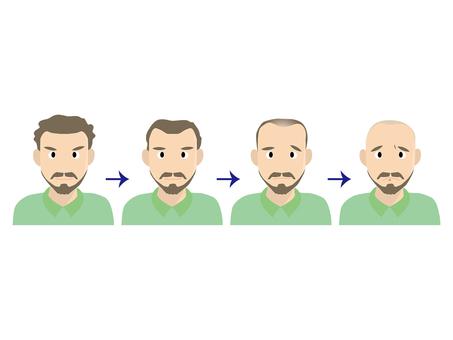 Male · thin hair & hair loss A