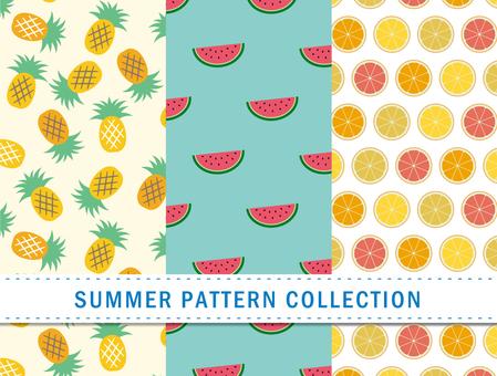 Summer pattern / fruit / seamless pattern