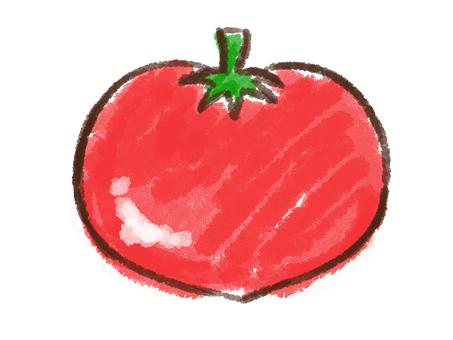 Crayon series [tomato]