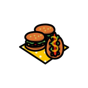 漢堡包和熱狗