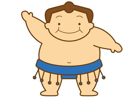 Sumo wrestler 4c