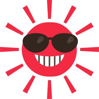 내리 쬐는 태양