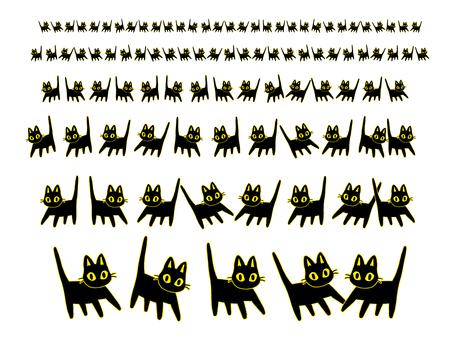 Black cat line