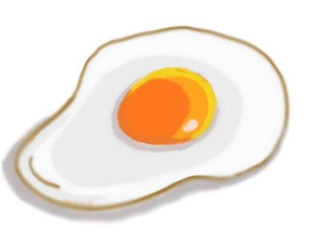Fried egg ④