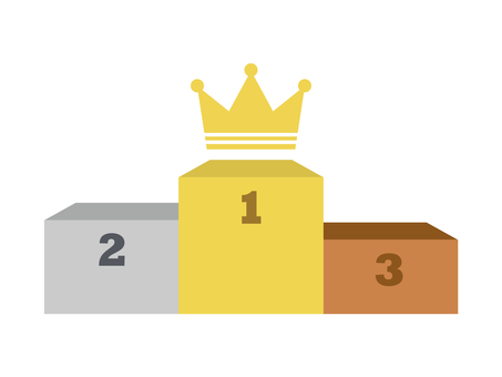 Ranking Podium Crown