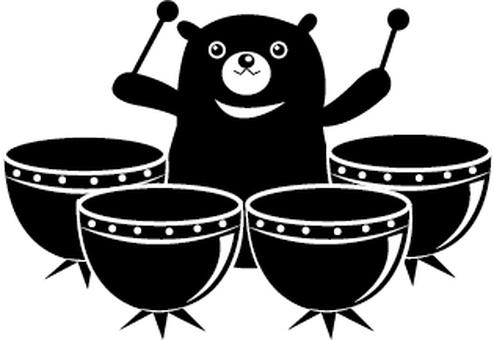 Timpani Bear