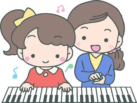 我們來學習鋼琴吧