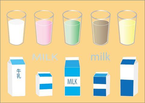 Milk set