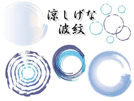 A cool ripple set