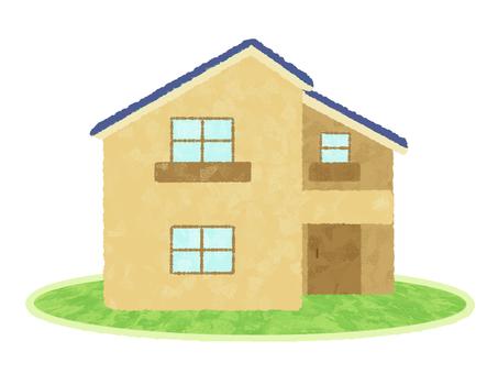 房屋/米色