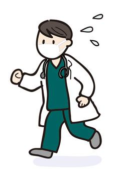 忙碌的醫生