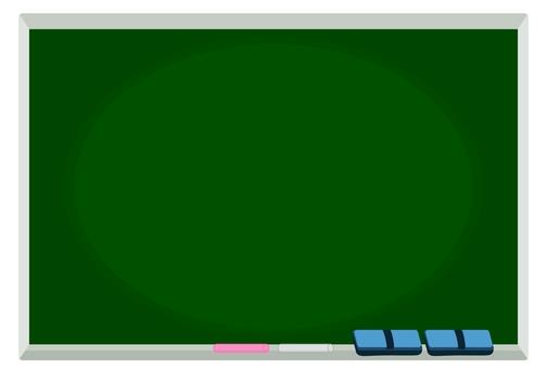 シンプル黒板