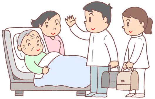 Visiting treatment