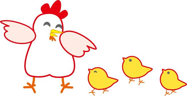 Walk for chickens