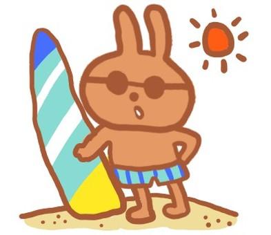 Surfing rabbits
