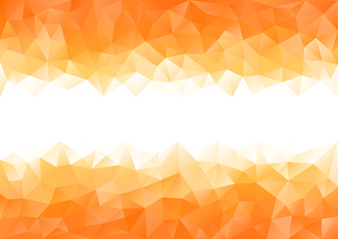 Orange polygon background