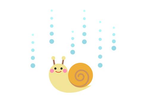 Rainy season image material 14