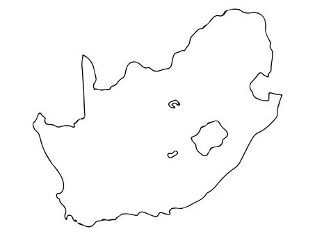 南アフリカ地形