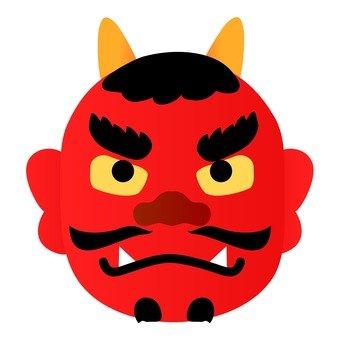Akamono's face