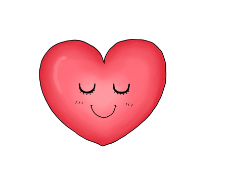 Heart (with a face)