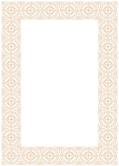 Elegant decorative frame