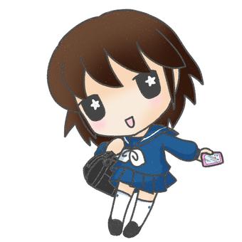 Sailor suit girl 2
