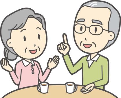 話す夫婦-009-バスト