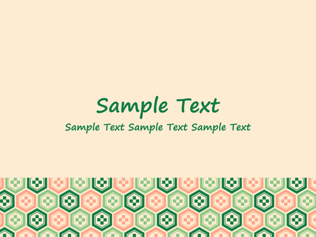 Japanese style background material No. 15